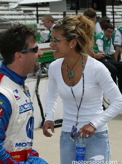 Michael Andretti and wife Leslie