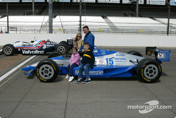 Al Unser Jr. and Scott Goodyear who were involved in the closest finish ever at the Indy 500 in 1994