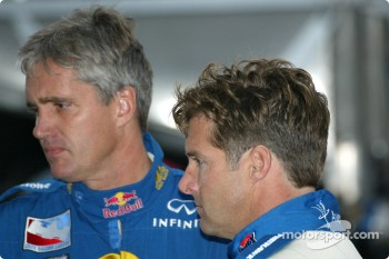Eddie Cheever and Robbie Buhl