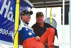 Eliseo Salazar and A.J. Foyt