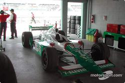 Andretti Green garage area