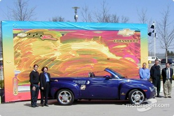 Unveiling of Chevy SSR, the 2003 Indianapolis 500 Pace Vehicle