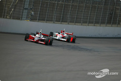 Al Unser Jr. and Helio Castroneves