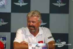 Penske press conference: Rick Mears