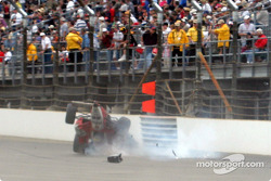Dan Wheldon's crash