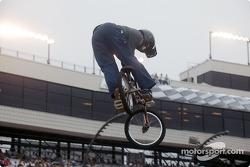 BMX bike riders
