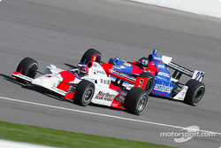 Helio Castroneves and Bryan Herta