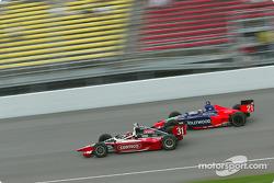 Al Unser Jr. and Alex Barron