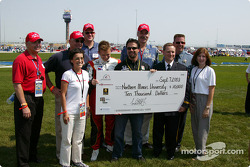 Check presentation to Northern Illinois University from Michael Andretti