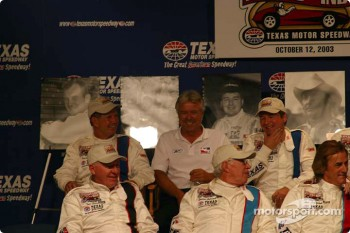Press conference: Rick Mears has fun