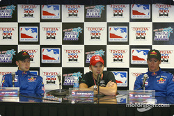 Press conference: Ed Carpenter, Dan Wheldon and Alex Barron