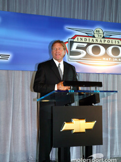 Terry Angstadt, Indianapolis Motor Speedway vice president of marketing
