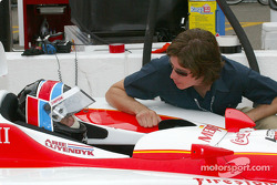 Arie Luyendyk and son