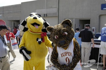 Mascots can be fans, too
