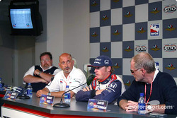 Press conference: Scott Roembke, Bobby Rahal, Buddy Rice and David Letterman