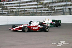 Scott Dixon and A.J. Foyt IV