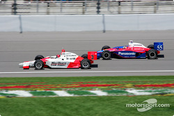Helio Castroneves and Kosuke Matsuura
