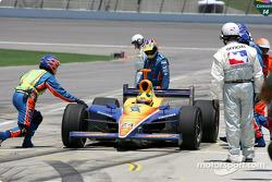 Felipe Giaffone in the pit