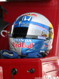 Buddy Rice's helmet