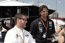 Rick Klein and Michael Andretti
