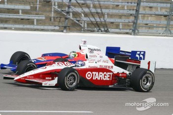 Scott Dixon and Kosuke Matsuura