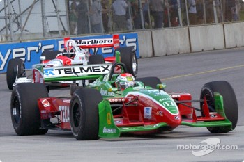 Adrian Fernandez and Helio Castroneves