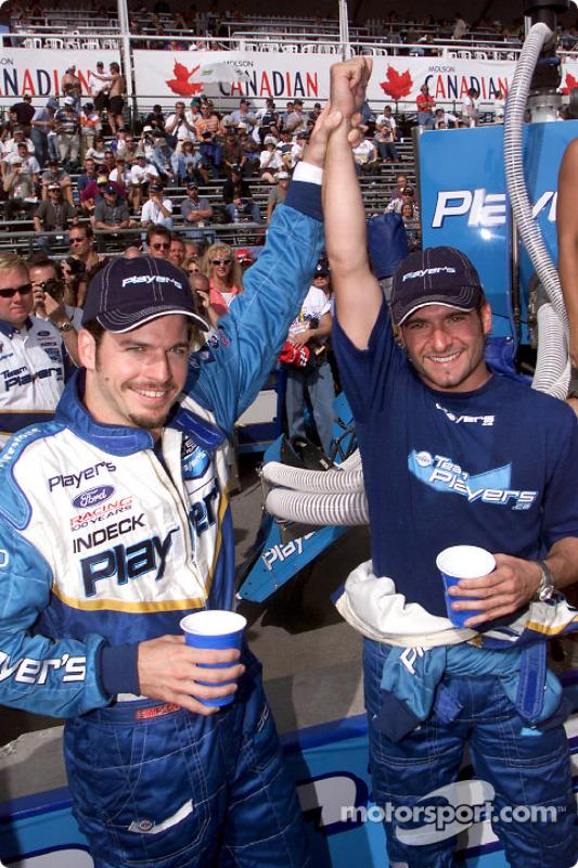 Patrick Carpentier and Alex Tagliani