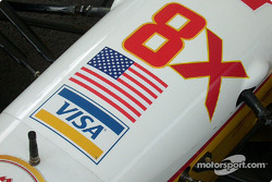 Nose cone with American flag