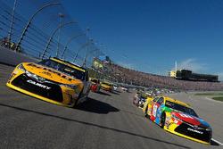 Pace-Laps: Matt Kenseth, Joe Gibbs Racing,Toyota; Kyle Busch, Joe Gibbs Racing, Toyota