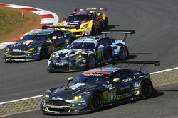 #77 Dempsey Proton Competition, Porsche 911 RSR: Richard Lietz, Michael Christensen, #95 Aston Martin Racing, Aston Martin Vantage GTE: Marco Sorensen, Nicki Thiim
