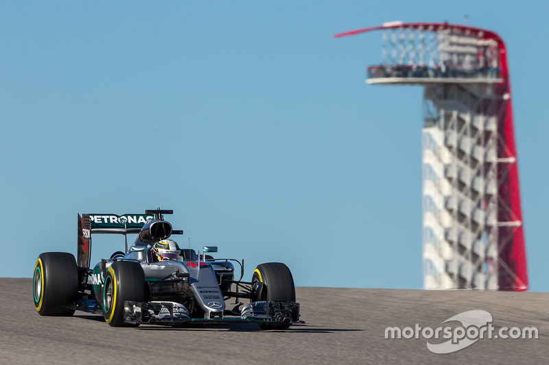 USA, Austin: Lewis Hamilton (Mercedes)