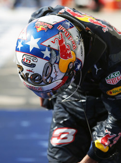 Daniel Ricciardo, Red Bull Racing in parc ferme