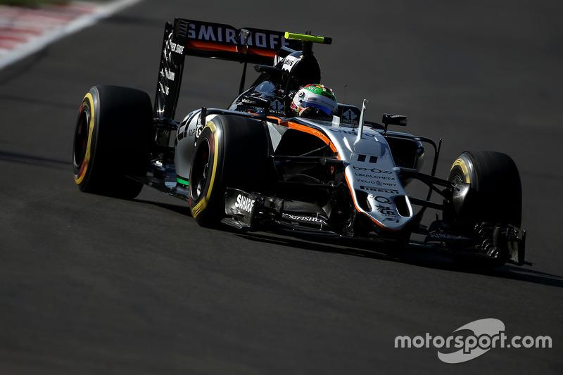 12. Sergio Perez, Sahara Force India F1 VJM09