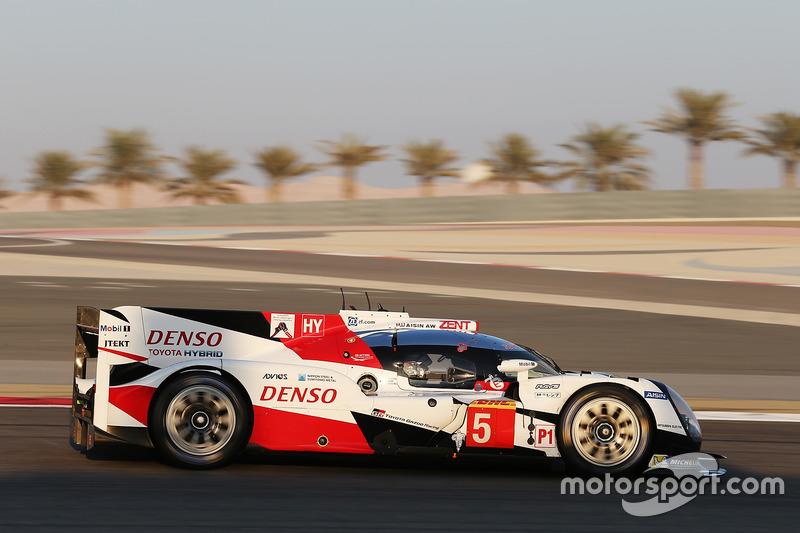 6. LMP1: #5 Toyota Racing, Toyota TS050 Hybrid: Sébastien Buemi, Kazuki Nakajima, Anthony Davidson