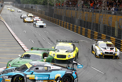 Crash, Renger van der Zande, Mercedes-AMG Driving Academy Mercedes-AMG GT3; Nico Müller, Phoenix Racing Audi R8 LMS