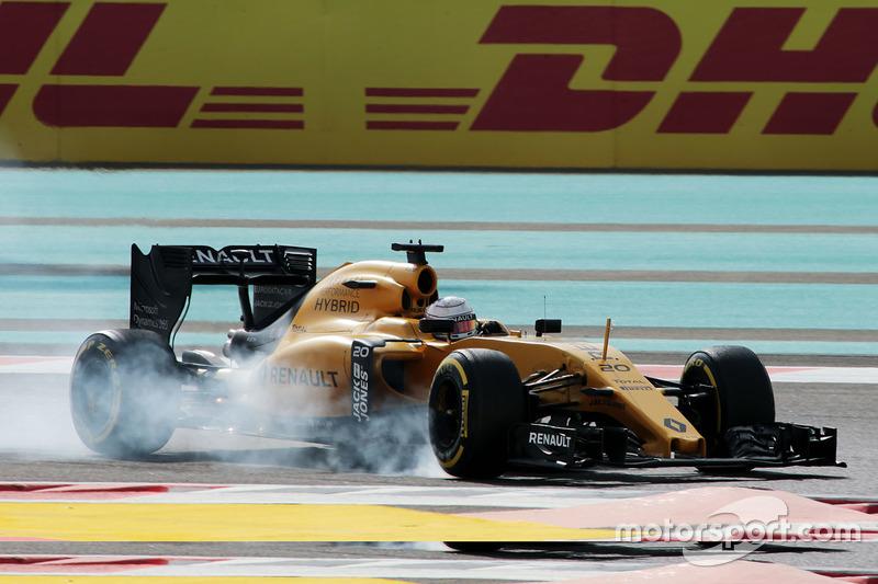 18. Kevin Magnussen, Renault Sport F1 Team RS16