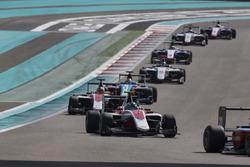 Nyck De Vries, ART Grand Prix leads Charles Leclerc, ART Grand Prix