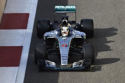 Lewis Hamilton, Mercedes F1 Team testing 2017-spec Pirelli tyres