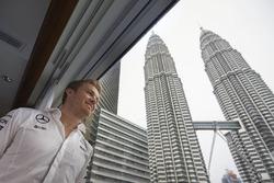 Nico Rosberg Petronas visit