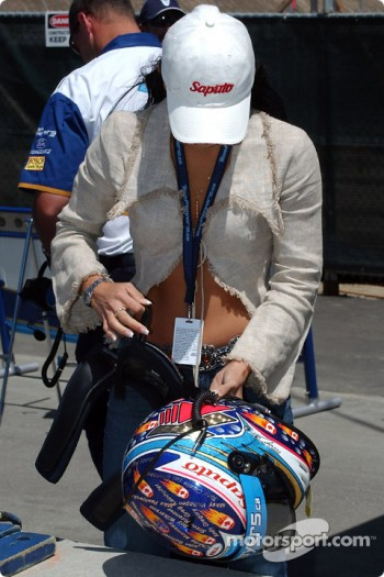 Alex Tagliani's girlfriend