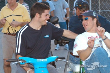 Patrick Carpentier and Mario Dominguez