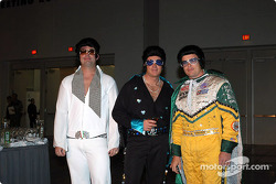 Three Elvises to welcome you