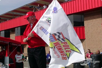 Pole winner flag