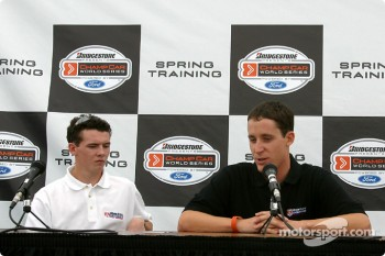 Barber Pro series press conference: Albert Unser and Bert Frissell