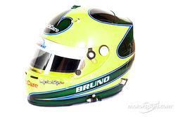 Bruno Junqueira's helmet
