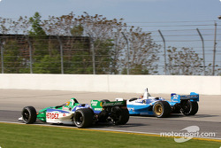 Roberto Moreno and Patrick Carpentier