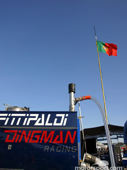 Fittipaldi-Dingman Racing refuel equipment