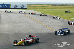 Sébastien Bourdais leads the field