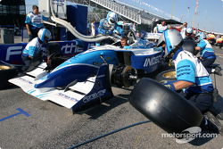 Pitstop practice at Forsythe Championship Racing
