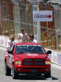 Drivers parade: Ryan Hunter-Reay